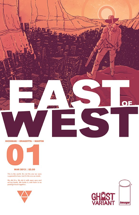 EAST OF WEST 1 GHOST VARIANT