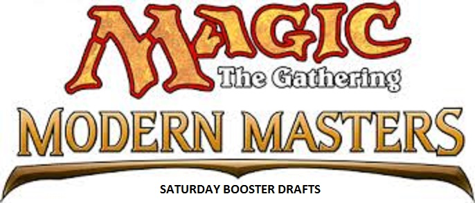 MTG Modern Masters Saturday booster drafts