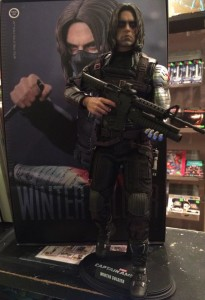 The Winter Soldier has more weapons than you'll know what to do with!