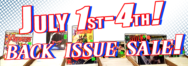 SAVE ON BACK ISSUES THIS WEEKEND!