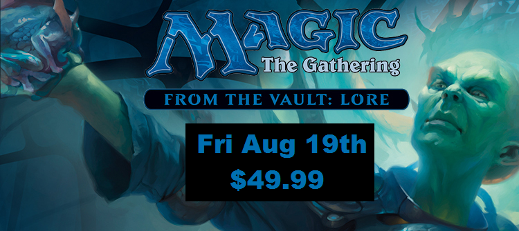MTG From the Vault:Lore on sale Friday