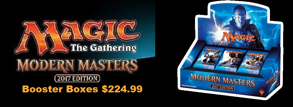 MTG: Modern Masters 2017 Booster Boxes!