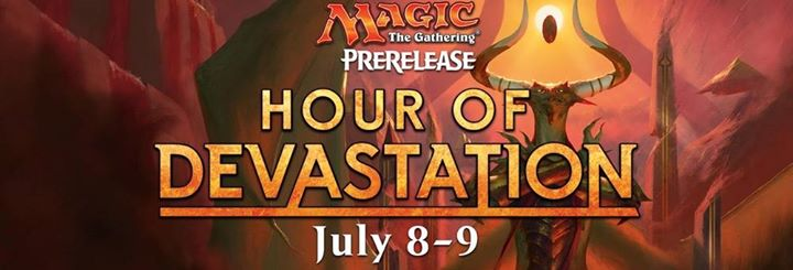 M:TG Hour of Devastation Prerelease Events in W-G