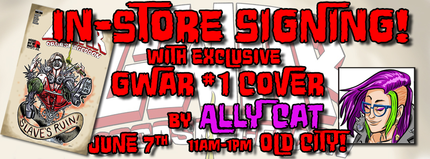 EXCLUSIVE GWAR #1 COVER AND SIGNING!