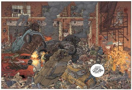 NEW PAGES colored by Dave Stewart