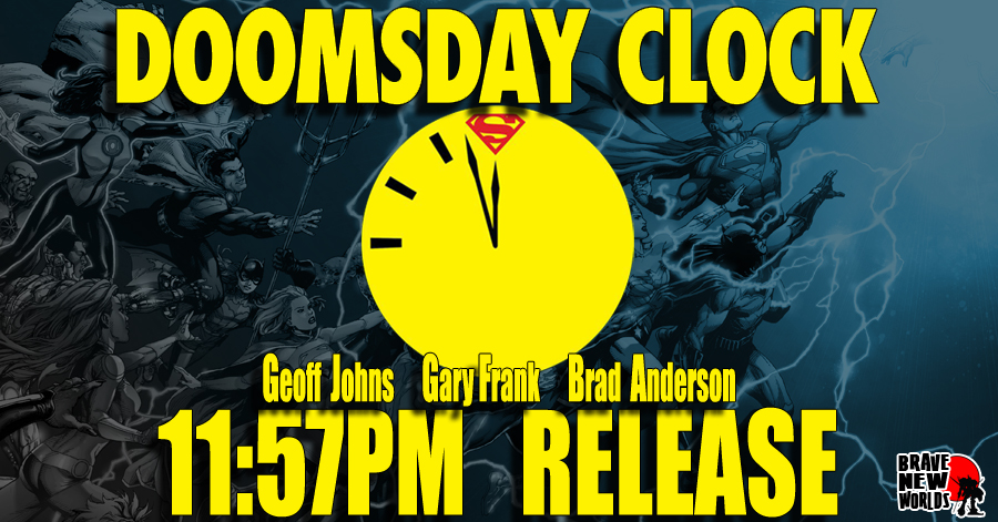 DOOMSDAY CLOCK @ 11:57PM